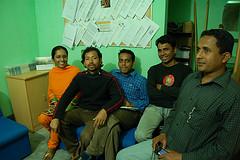 PRAN staff group shot