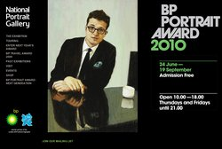 National Portrait Gallery BP Portrait Award 2010 website screenshot