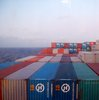 Cargo at sea